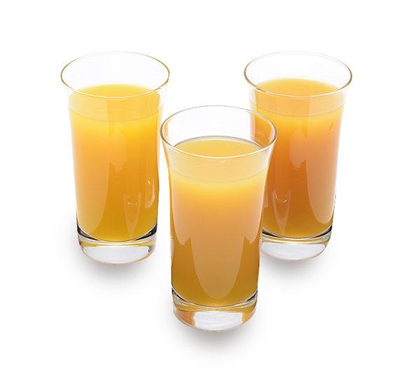 みかんジュース3種飲み比べ