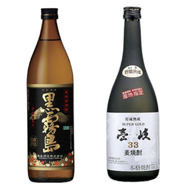 焼酎 芋 or 麦